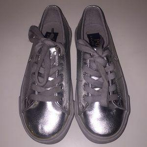 POLO metallic shoes